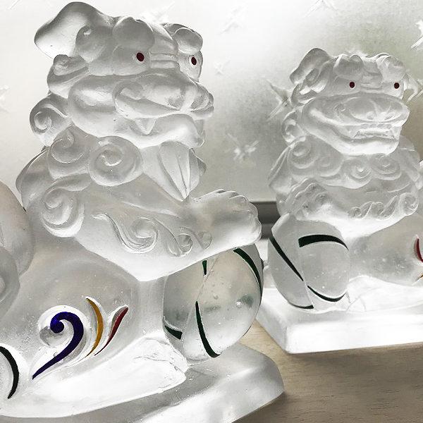 ガラスの狛犬 製作Part10