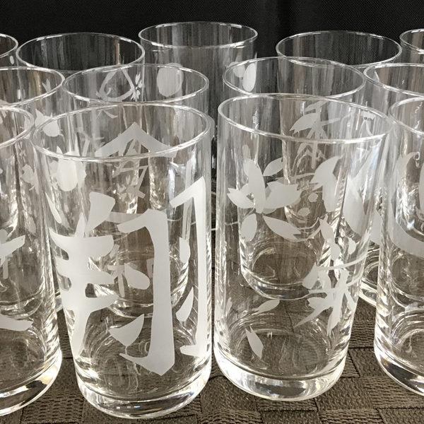 夏休みガラス体験