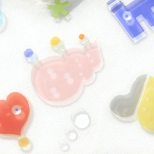 楽しいうつわシリーズ3 ~HAPPY GLASS PLATE~