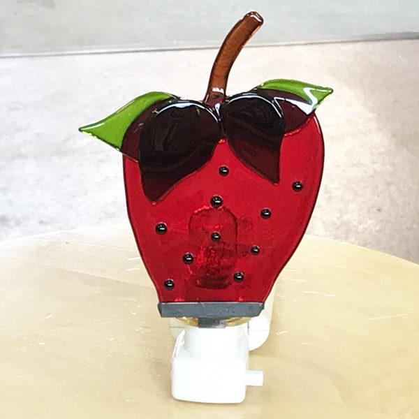 イチゴのお休みランプ